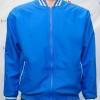 College Jacket เสื้อแจ็คเก็ตสีฟ้าเข้มสไตล์วัยรุ่น