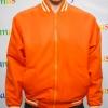 College Jacket เสื้อแจ็คเก็ตสีส้มสไตล์วัยรุ่น