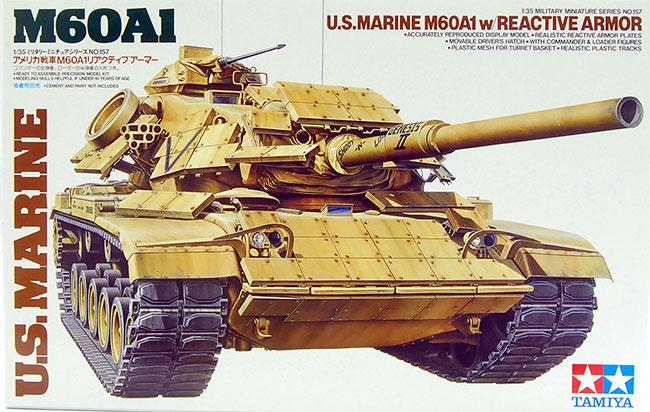 รถถัง M60A1 U.S.MARINE (1/35) TAMIYA (TA 35157)