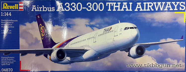 1/144 Airbus A330-300 Thailand Airways by Rewell (RE04870)