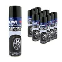 KIWI KLEEN-TYRE โฟมทำความสะอาดและเคลือบเงายางรถยนต์ 400 กรัม
