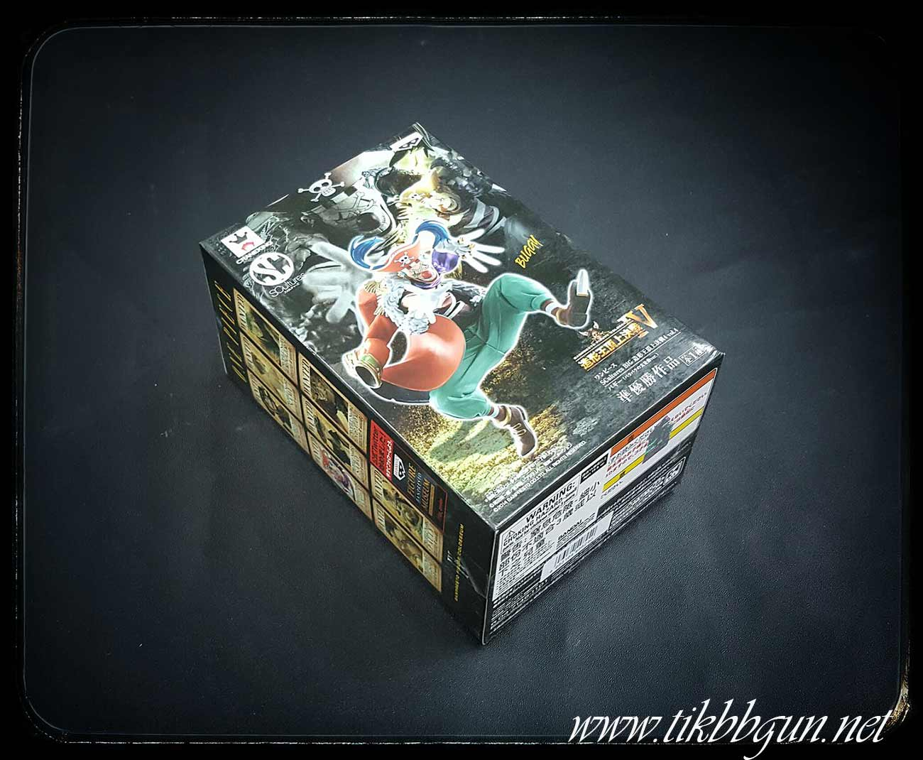 หุ่นฟิกเกอร์ One Piece - SCultures BIG Zoukeiou Chojho Kessen 4 vol.4 Buggy