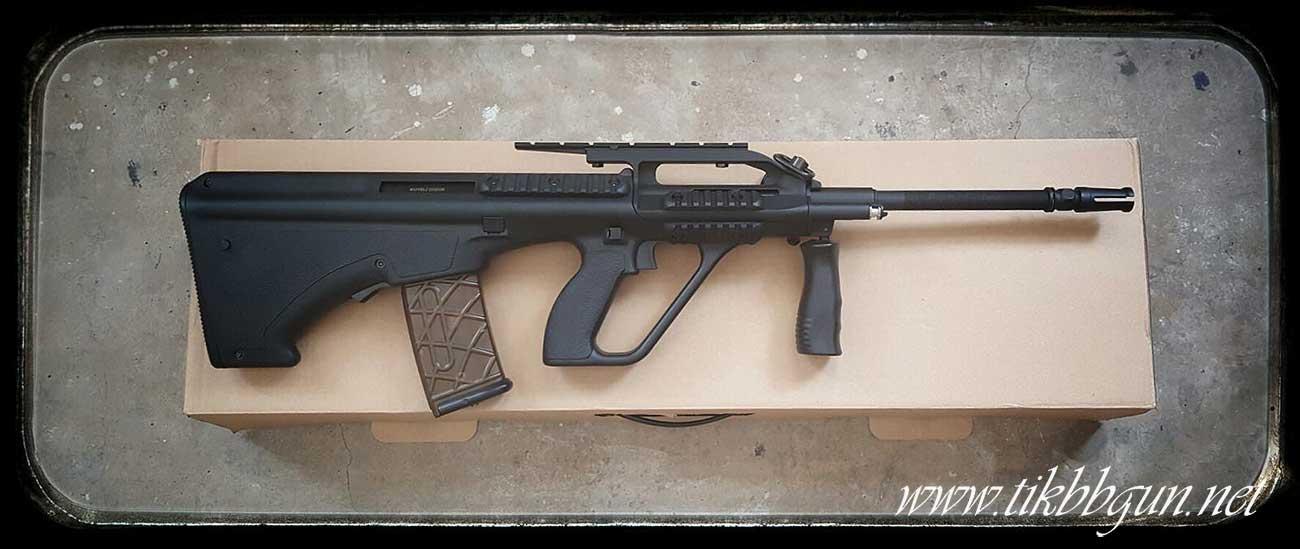 ปืนอัดลมไฟฟ้า รุ่น AU1G จาก Army สีดำ ชุดนี้ไม่มีแบตมานะครับ