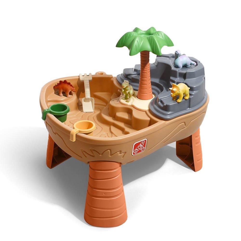 โต๊ะเล่นน้ำและทราย Step2 Dino Dig Sand and Water Play Table