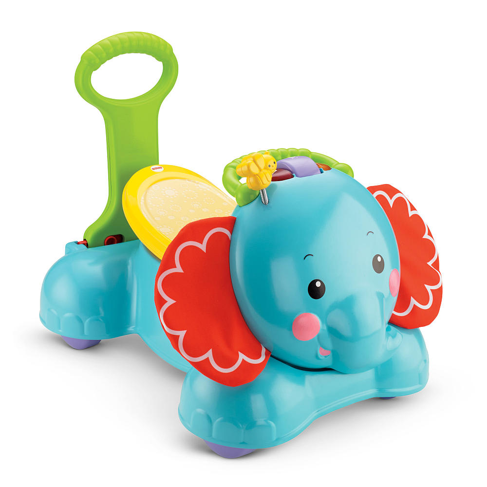รถผลักเดิน 3 อิน 1 Fisher-Price 3-in-1 Bounce, Stride & Ride Elephant