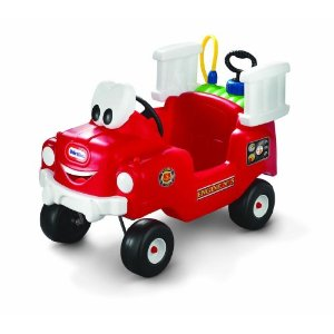รถดับเพลิงขาไถ Little Tikes Spray and Rescue Push Fire Truck