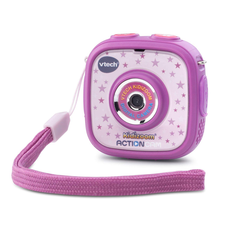กล้องถ่ายรูปและวีดีโอ สำหรับเด็ก VTech Kidizoom Action Cam, Purple