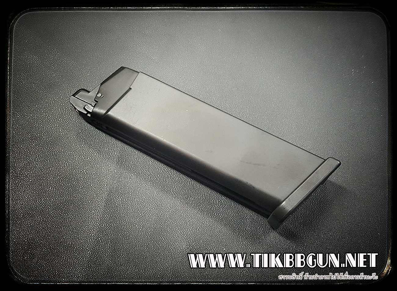 แม๊กสำหรับปืนแก๊สโบลว์แบล็ค Glock17 Black ARMY (GBB)