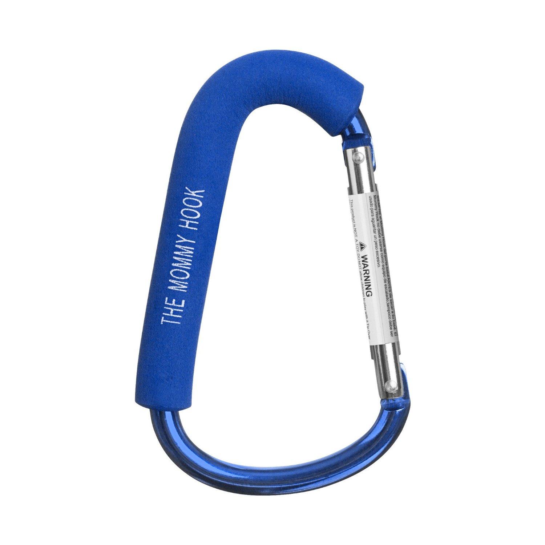 ตะขอสารพัดประโยชน์ Mummy Hook - Stroller Hanger ใช้ดี ไม่มีหัก สีน้ำเงิน