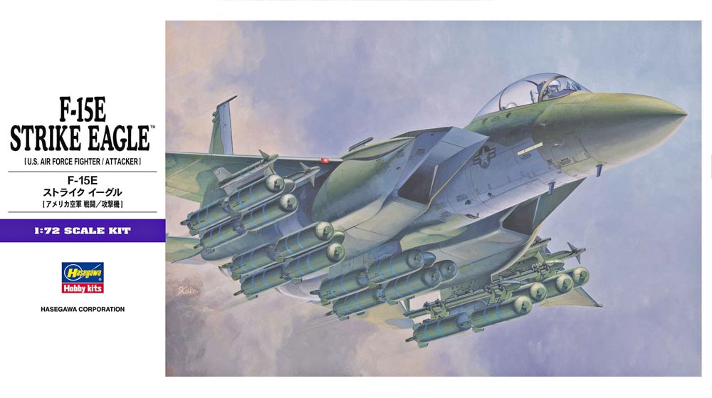 1/72 F-15E Strike Eagle by Hasegawa (HA00540)
