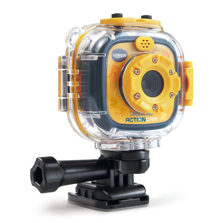 กล้องถ่ายรูปและวีดีโอ สำหรับเด็ก VTech Kidizoom Action Cam, Yellow/Black