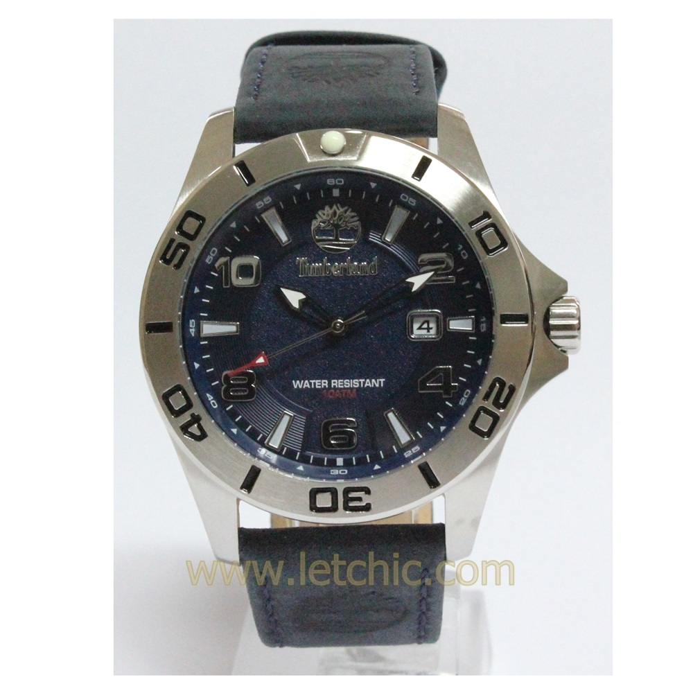 นาฬิกา Timberland รุ่น TBL14297XS-03 นาฬิกาข้อมือ ผู้ชาย สีกรมท่า ของแท้ ประกันศูนย์ CityChain 2 ปี ส่งพร้อมกล่อง และใบรับประกัน