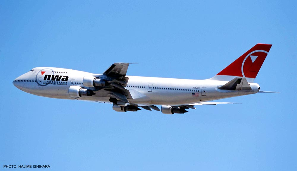 1/200 Northwest Airlines Boeing 747-200 by Hasegawa HSGS0686