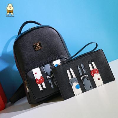 กระเป๋าเป้ลายแมว3ตัว แบรนด์ Beibaobao งานแท้ 100%