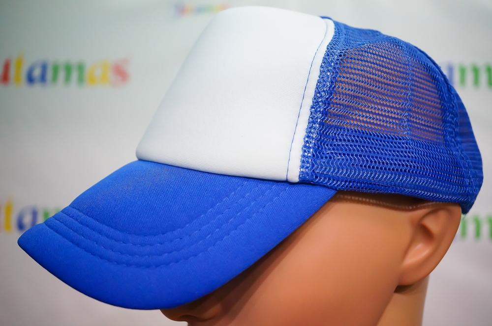 Baseball Cap หมวกเบสบอล 5 ชิ้น ตาข่ายครึ่งใบ