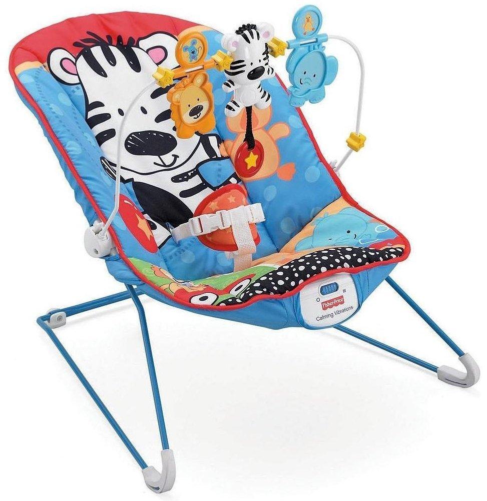 เปลนอนสั่นได้ มาพร้อมของเล่น Fisher-Price Adorable Animals Baby's Bouncer