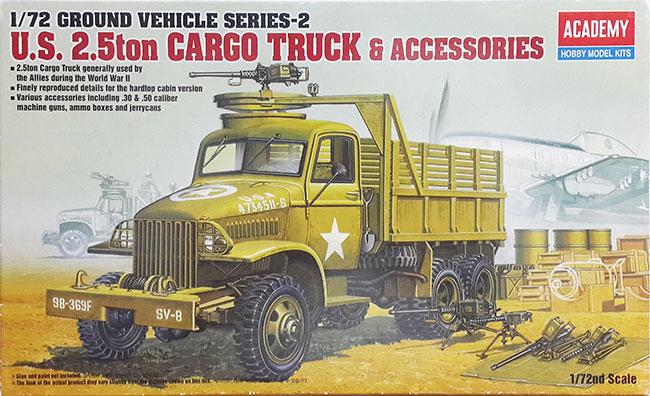 รถ US TON 6x6 Cargo 1/72 Academy (AC13402 )