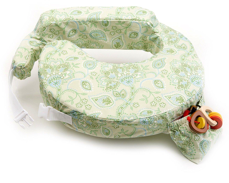 หมอนรองให้นม My Brest Friend Nursing Pillow รุ่น Original ลาย Green Paisley