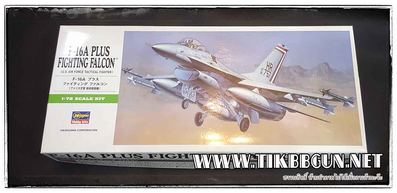 1/72 F-16A Plus Fighting Falcon by Hasegawa