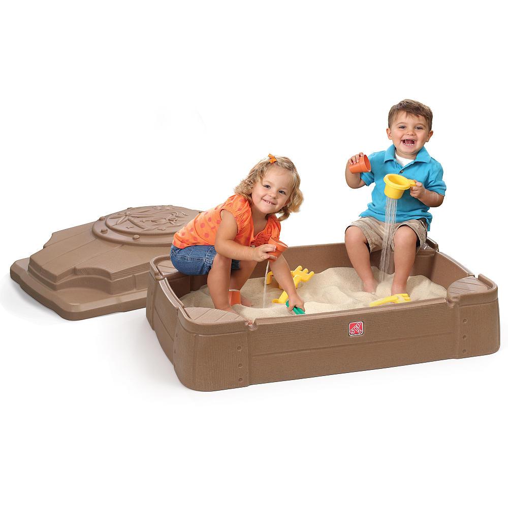 กระบะทรายขนาดใหญ่ Step 2 Play & Store Sandbox พร้อมฝาปิด