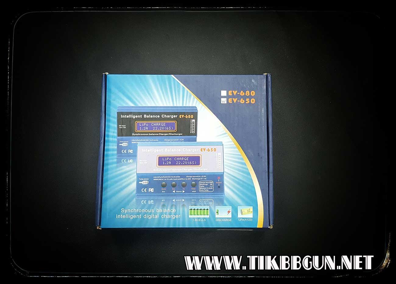 ที่ชาจน์ถ่านอเนกประสงค์ ชาจน์ได้ทุกรูปแบบ รุ่น EV650