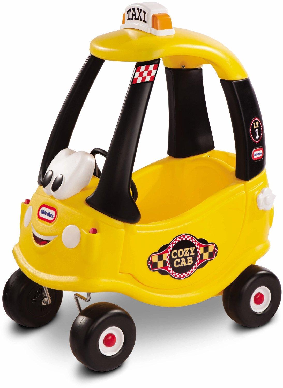 รถแท๊กซี่ ขาไถยอดฮิต Little Tikes Cozy Coupe Cab สีเหลืองสดใส ไม่ซ้ำใคร ออกใหม่ล่าสุด
