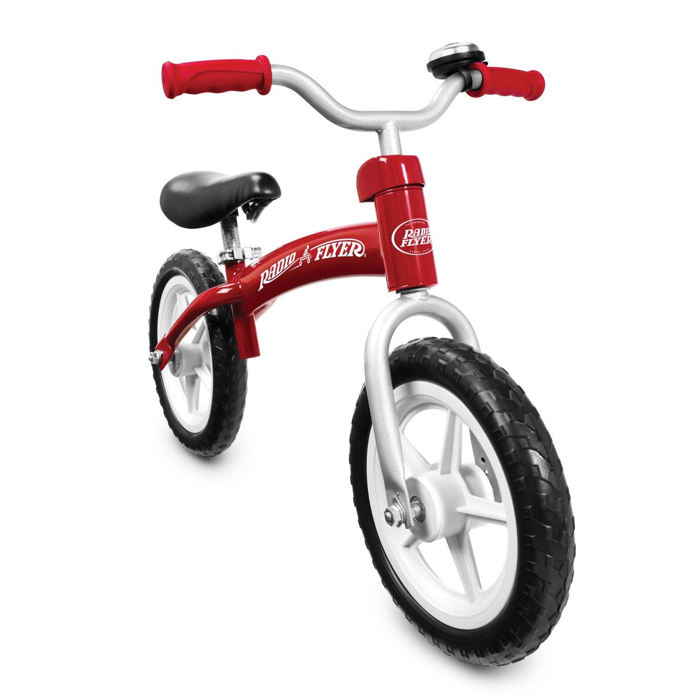 จักรยานฝึกการทรงตัว Radio Flyer Glide & Go Balance Bike Red