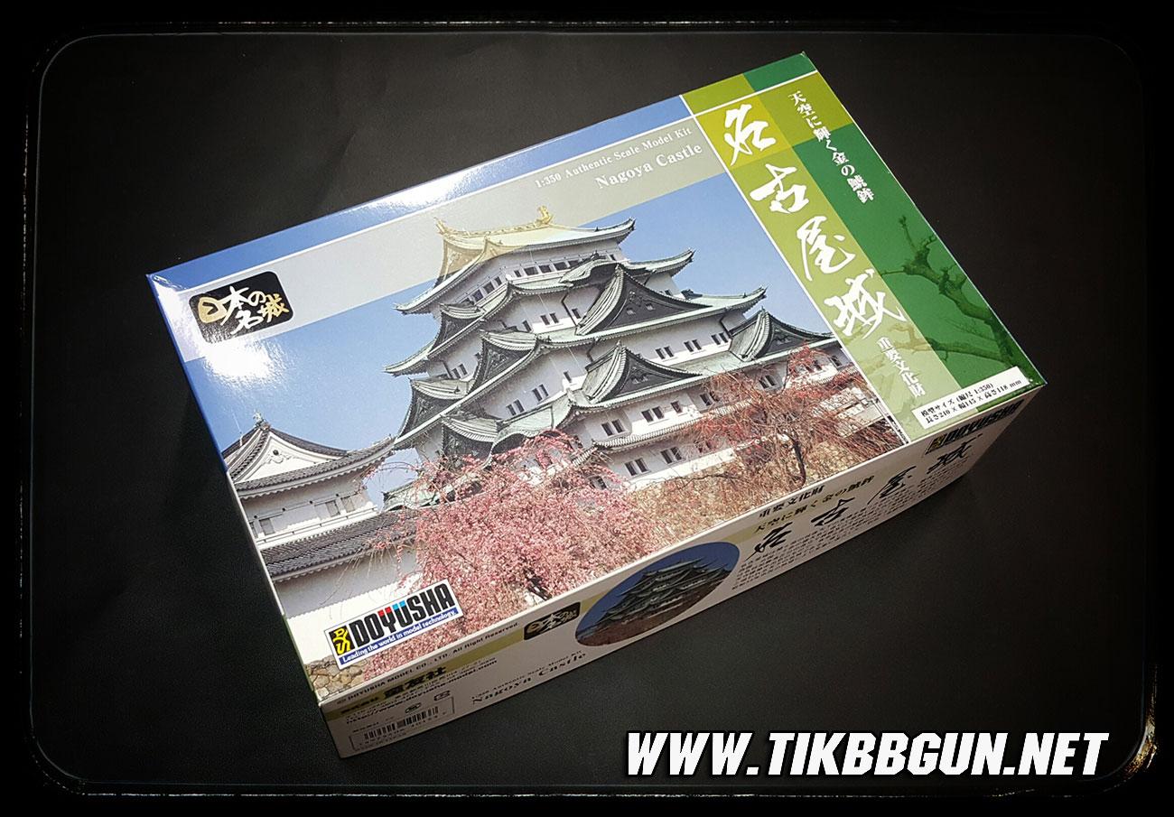 โมเดลปราสาท Nagoya Castle ขนาด 1:350 จากค่าย Doyusha S23