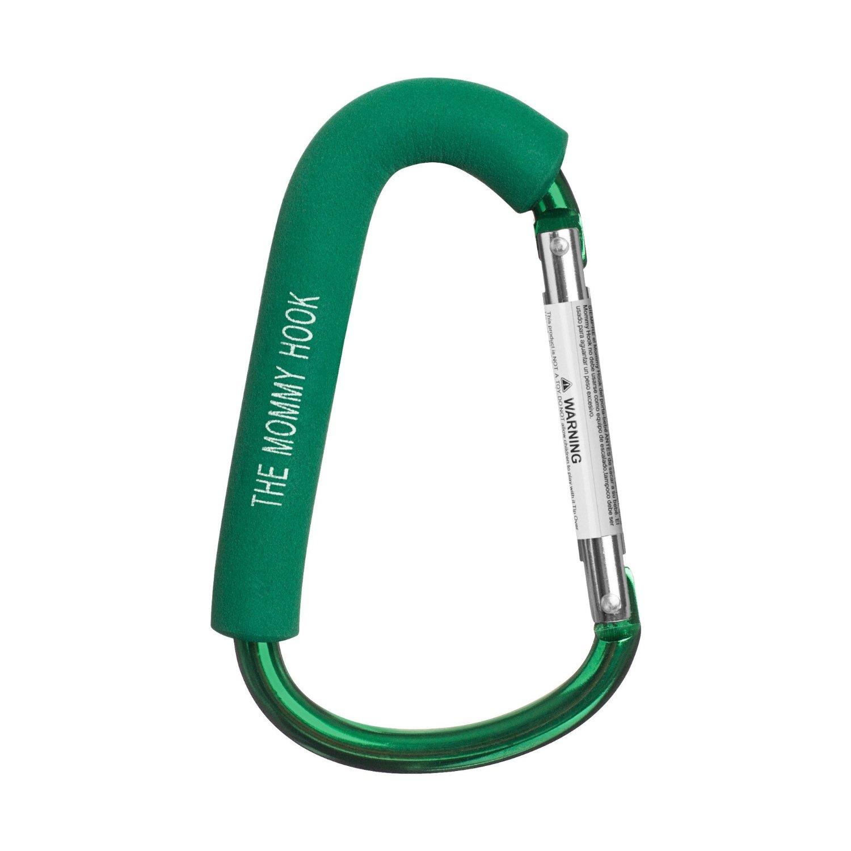 ตะขอสารพัดประโยชน์ Mummy Hook - Stroller Hanger ใช้ดี ไม่มีหัก สีเขียว