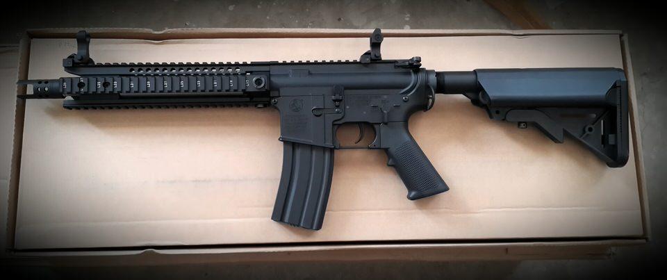 ปืนอัดลมไฟฟ้า จาก E and C รุ่น EC601S พร้อมเฟตเพื่ความทน ถึกเข้าไปอีก (เฉพาะรายการ)