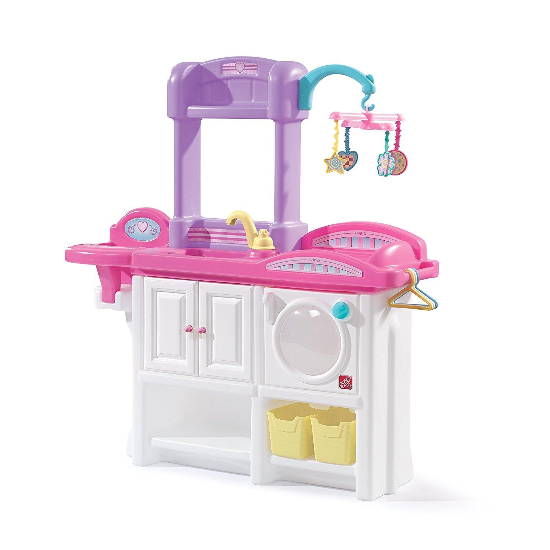เนอสเซอรี่ฝึกหัด Step 2 Love and Care Deluxe Nursery Playset สำหรับพยาบาลตัวจิ๋ว