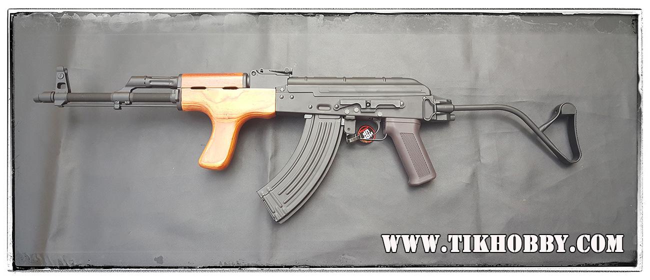 ปืนอัดลม ระบบไฟฟ้า AK Romania CM050 ไม้แท้ๆ จาก Cyma