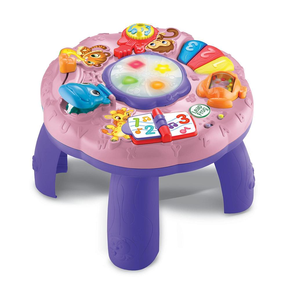 โต๊ะกิจกรรม LeapFrog Animal Adventure Learning Table - Pink รุ่นใหม่ล่าสุด สีชมพู ม่วง