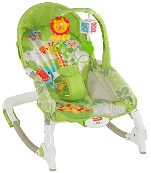 เปลโยก Fisher Price Infant to Toddler Rocker – Rainforest Friends
