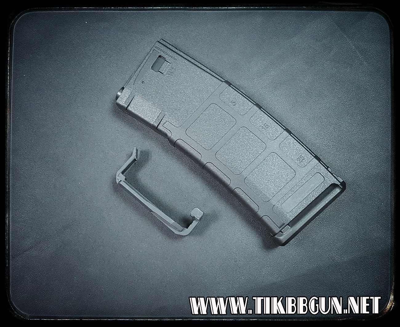 แม๊กสำหรับปืนไฟฟ้า M4 P-Mag ดำ แม๊ก Stand