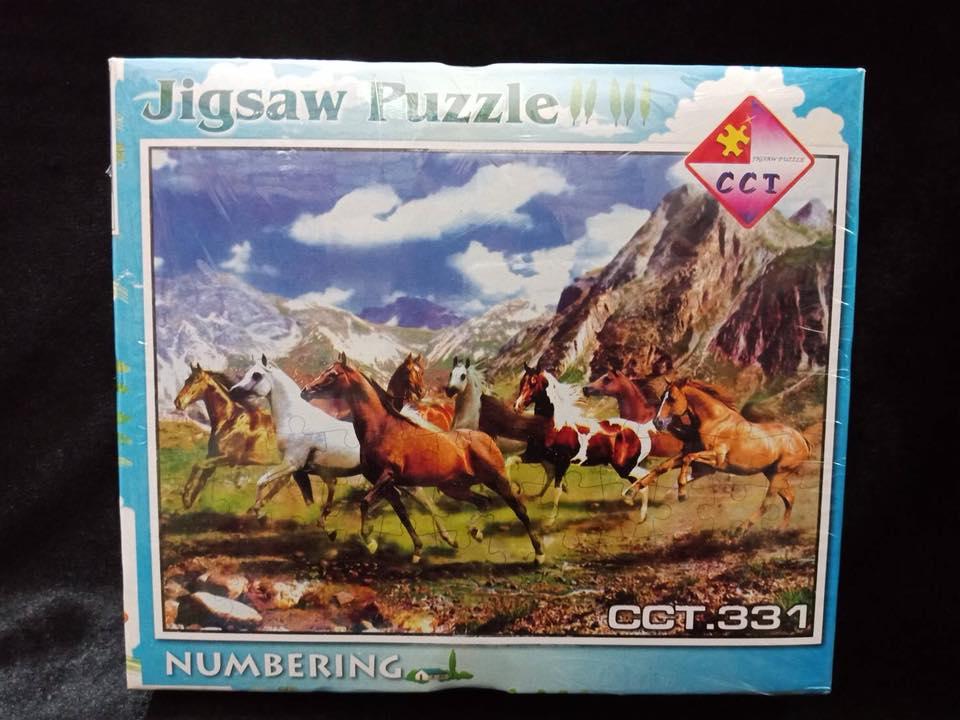เกมส์ภาพต่อรูปจิ๊กซอว์ 500 ชิ้น พร้อมกรอบรูป และกาวทาจิ๊กซอว์ ขนาด 53x38 ซม.(21*15 นิ้ว)ขายส่ง ผลิตตัวต่อจิ๊กซอว์ Jigsaw คุณภาพดี