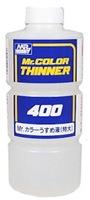 T-104 MR.COLOR THINNER 400 ml. ทินเนอร์อ่อนๆ สำหรับผสมสีทำโมเดล