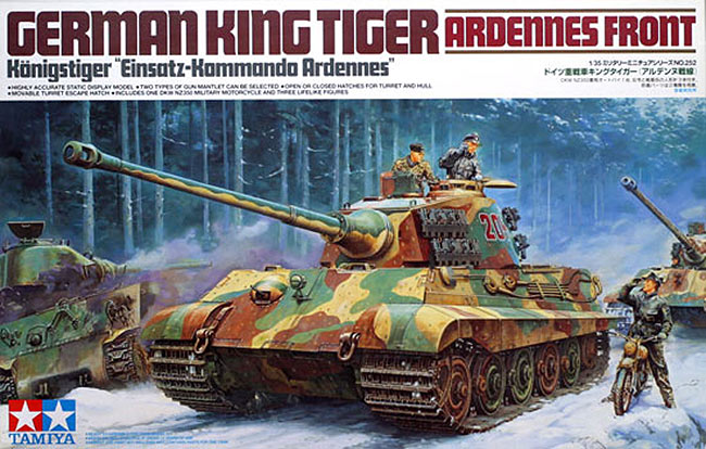 รถถัง FGERMAN KING TIGER 1/35 Tamiya (TA35252 )