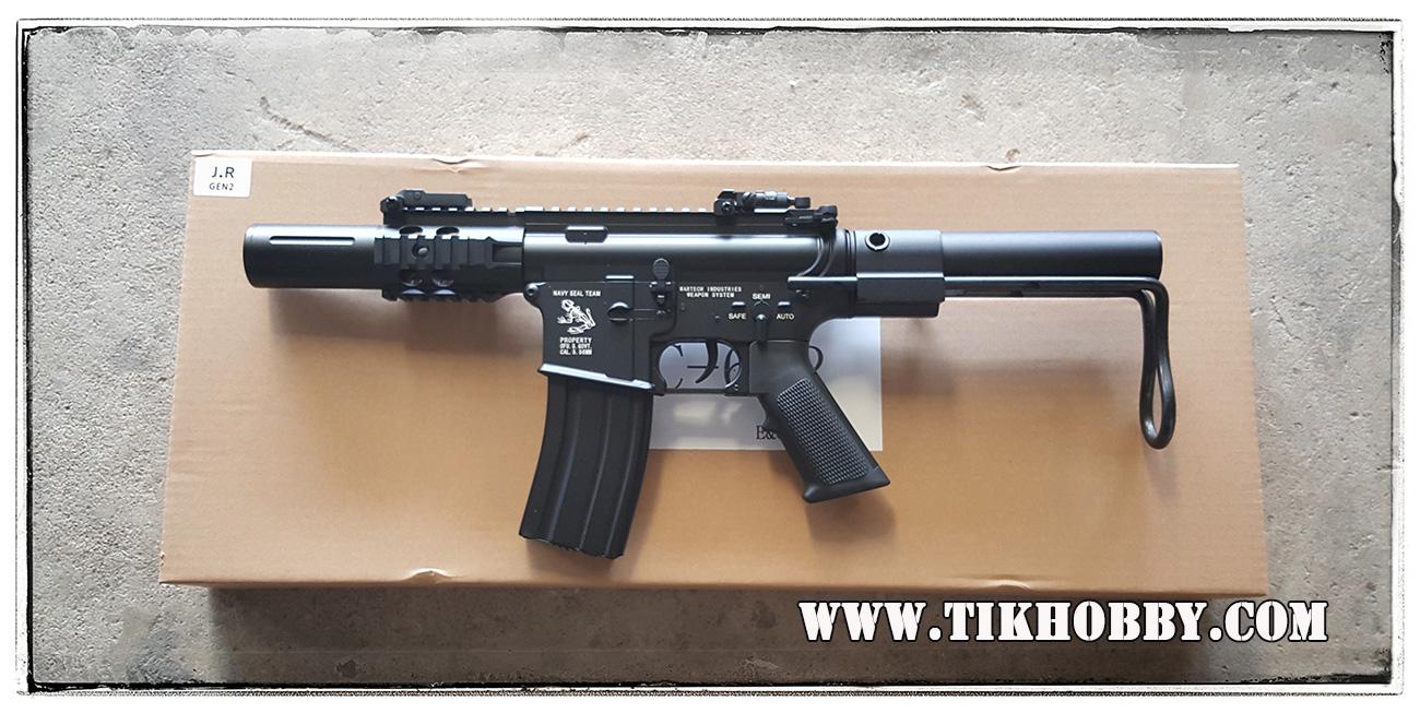 ปืนอัดลม ไฟฟ้า จาก E&C รุ่น 622S M4CQB