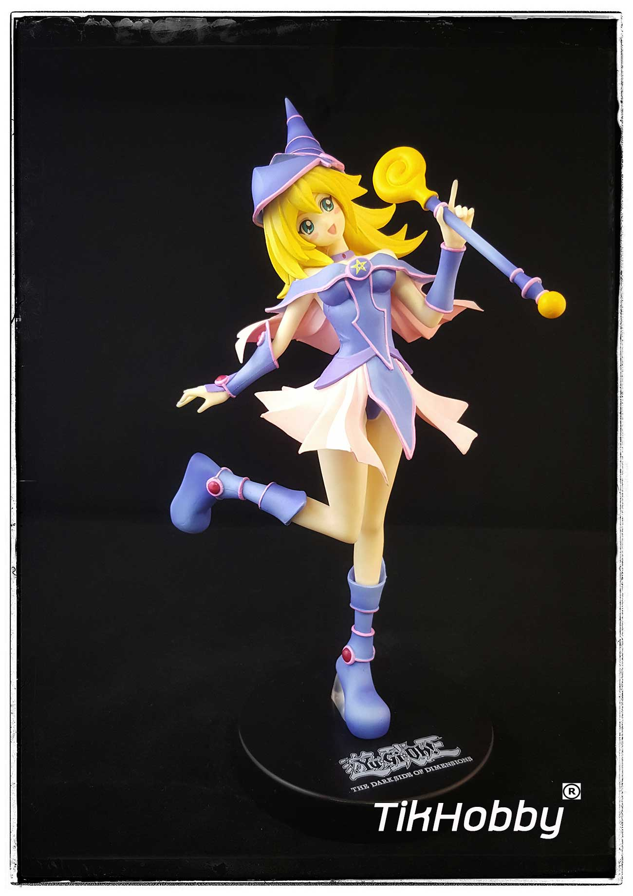 Yu-gi-oh The Dark Side of Dimensions Magical Cute Figure Black Magician Girl