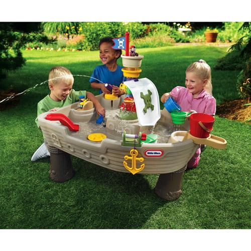 โต๊ะเล่นน้ำโจรสลัด Little Tikes Anchors Away Pirate Ship ของเล่นที่หน้าร้อนนี้ไม่ควรพลาด