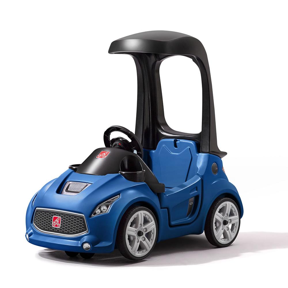 รถขาไถเปิดประทุน สุดเท่ห์ Step2 Turbo Coupe Ride-On ทรงสปอร์ต สุดล้ำ เหนือใคร สีฟ้า
