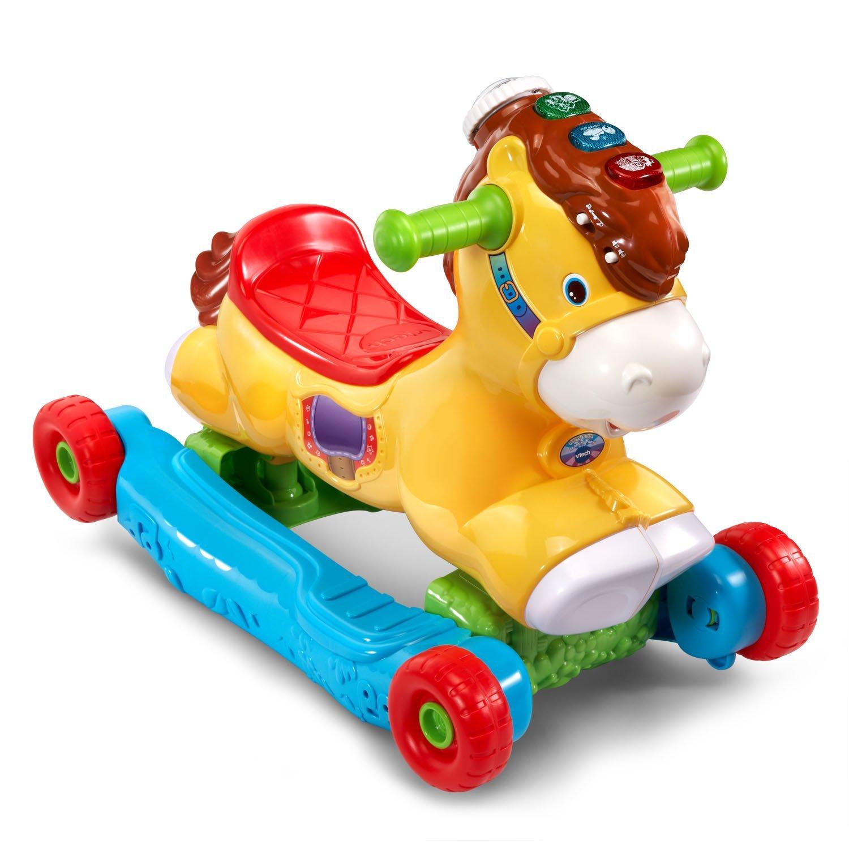 ม้าโยกเยก ขาไถ VTech Gallop and Rock Learning Pony ของเล่นทูอินวันสุดคุ้ม