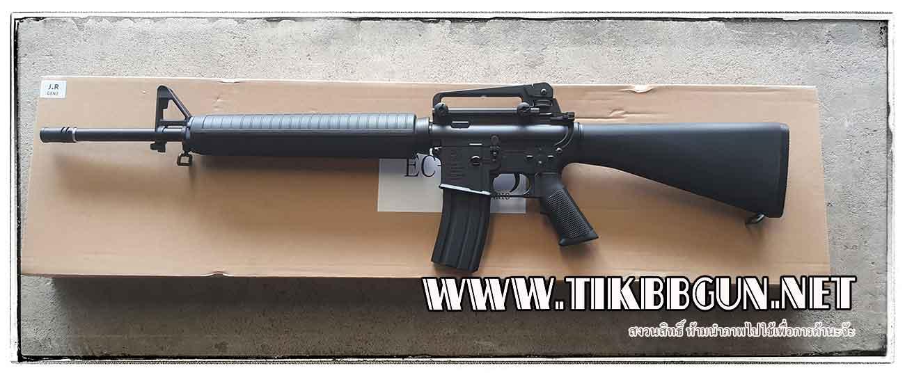ปืนอัดลมไฟฟ้า M16A3 จาก E&C รุ่น EC306S