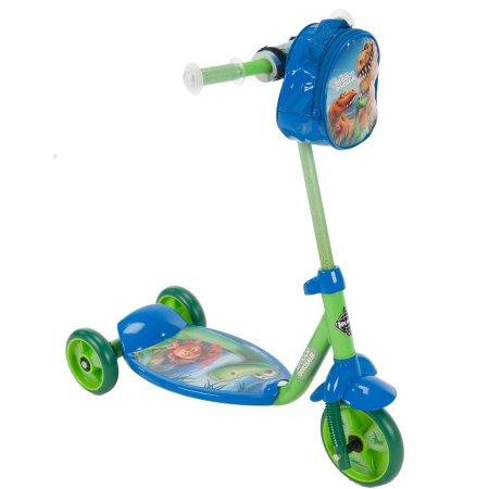 สกูเตอร์ ลาย ไดโนเสาร์ Huffy Disney Pixar Good Dinosaur Boys 3-Wheel Preschool Scooter