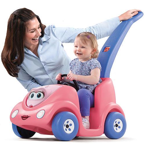 รถนั่งเด็ก Step2 Push Around Buggy - 10th Anniversary Edition - Pink สีชมพู หวานแหวว