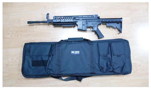 กระเป๋าปืนแบบผ้าร่ม 1 ด้านยาว 90 ซม. งานสวยและดีครับ