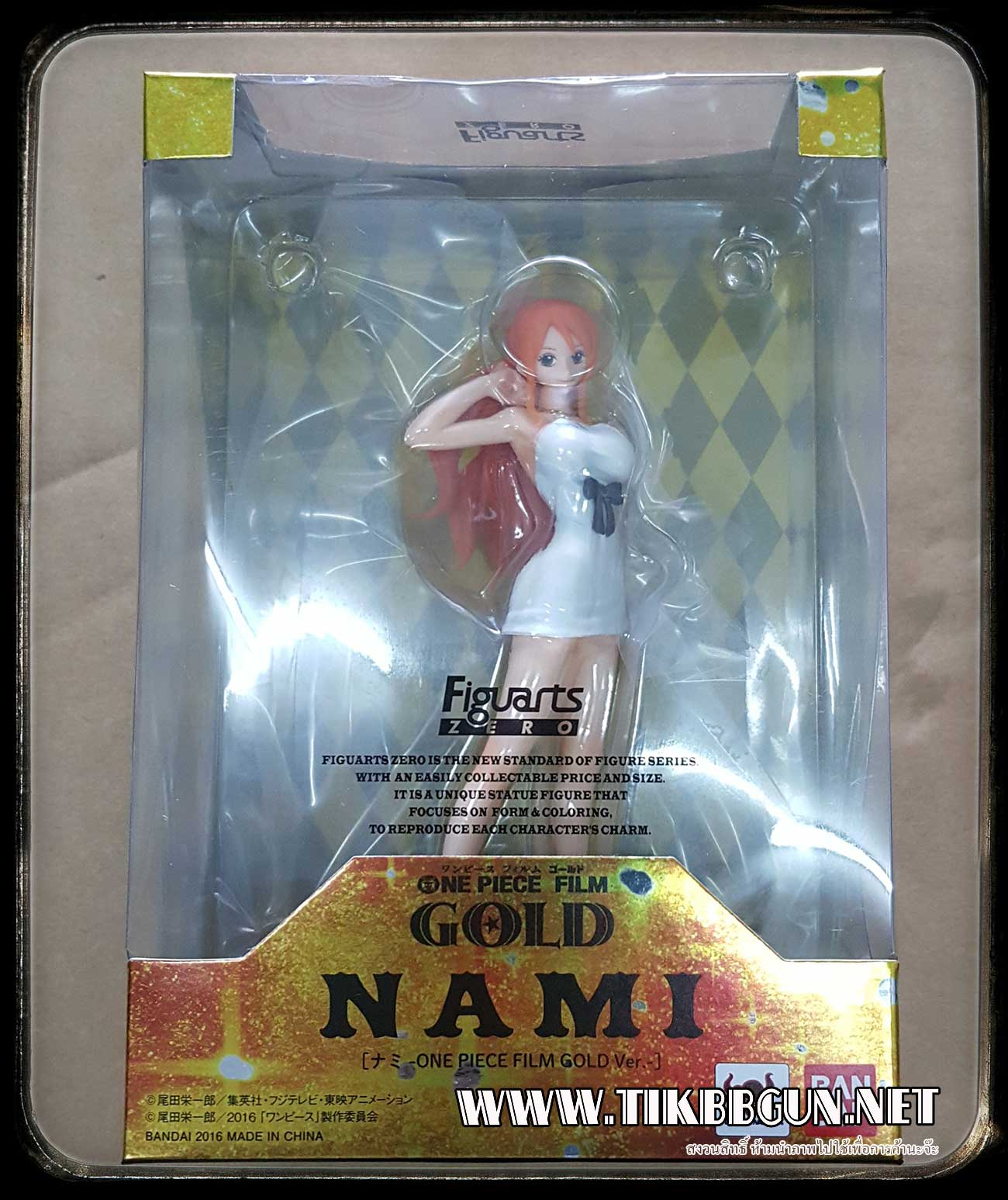 Figuarts ZERO Nami ONE PIECE FILM GOLD Ver. by Bandai (BANN08752)