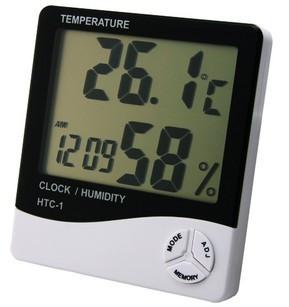 ตัววัดค่าอุณหภูมิ และความชื้นแบบดิจิตอล HTC1