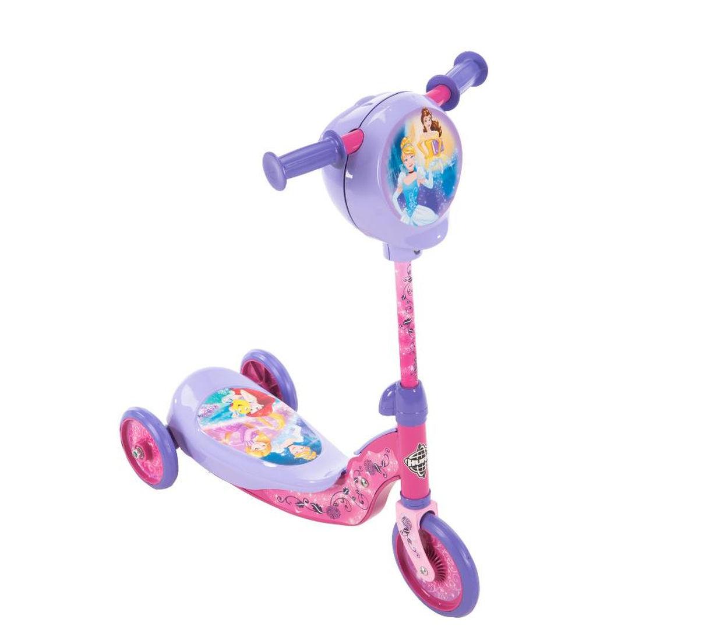 สกูเตอร์เจ้าหญิง มาพร้อมกล่องเก็บสมบัติ Huffy Disney Princess Secret Storage Scooter